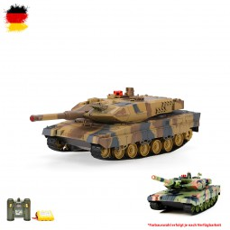 German Leopard 2 A5 - RC R/C Ferngesteuerter Panzer Mit Schuss-, Sound- und Beleuchtung, 1:24
