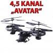 Original AVATAR 4 Kanal RC ferngesteuerter Hubschrauber Helikopter Neu