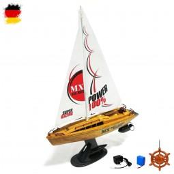 RC ferngesteuerte Luxus Yacht, Segelboot, Boat, Segel-Schiff, Modell-Boot mit Akku mit Ladekabel