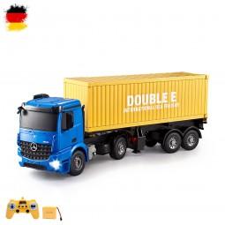 RC ferngesteuerter Mercedes-Benz Arocs LKW mit Container, Truck mit Sound und Licht, Auto, Fahrzeug