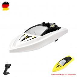 RC ferngesteuertes Speedboot, Yacht, Renn-Boot, Racing Boat, Schiff Modell mit Akku und Ladekabel