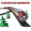 Elektrische Eisenbahn,Lokomotive,Zug,Lok mit über 10 Meter Strecke,Neu