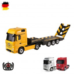 RC ferngesteuerter Mercedes-Benz Actros LKW mit Anhänger, Truck mit Licht, Auto, Fahrzeug im 1:26