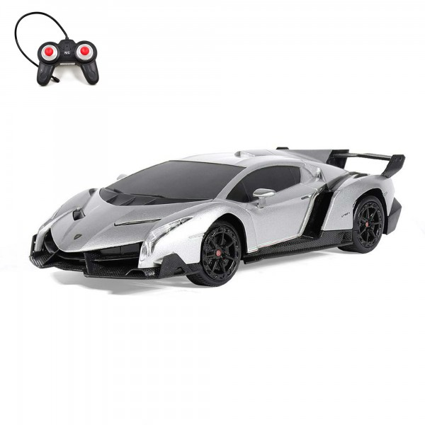 rc ferngesteuerter lamborghini veneno lizenz auto 1 24. Black Bedroom Furniture Sets. Home Design Ideas