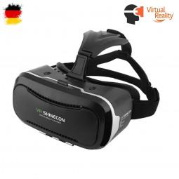 VR-3D Brille, Virtual Reality für 4,5 bis 6 Zoll Smartphones Samsung, iPhone, HTC, Huawei und Xiaomi