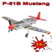 RC ferngesteuertes Flugzeug P-51 Mustang, Jagdflieger Flieger-Modell