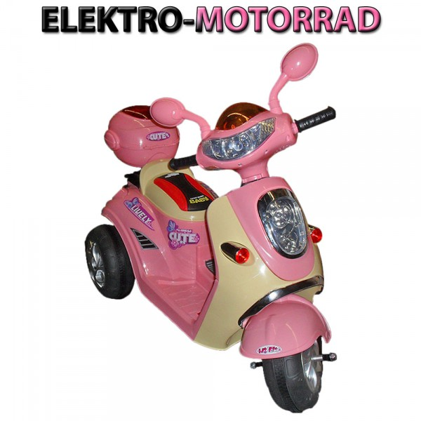 elektroroller kinder motorrad elektro auto fahrzeug. Black Bedroom Furniture Sets. Home Design Ideas