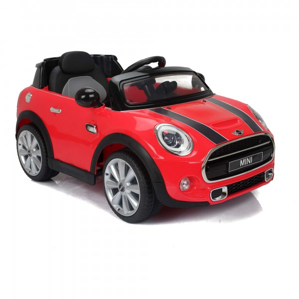 mini cooper s kinder elektroauto mit 2 4ghz. Black Bedroom Furniture Sets. Home Design Ideas