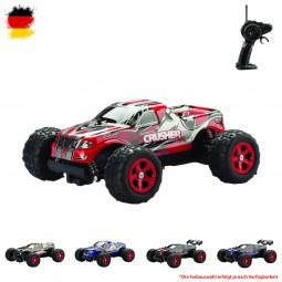 RC ferngesteuertes Monster Truck mit Akku und 2.4GHz, Fahrzeug, Buggy, Crawler, Auto Modell in 1:24