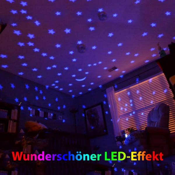 Einhorn Nachtlicht-Buddy für Kinder, Sternen-Himmel, Schlaf-Licht ...