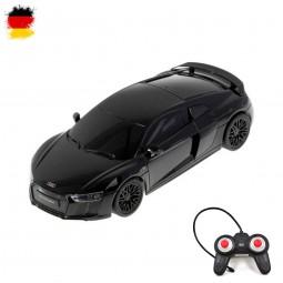 RC ferngesteuerter Audi R8 V10 Plus, Original Lizenz-Fahrzeug mit Fernsteuerung, Auto-Modell in 1:24