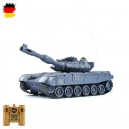 RC ferngesteuerter russischer T90 Panzer mit Akku, Militär-Fahrzeug, Tank-Modell im 1:28 Maßstab