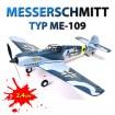 MESSERSCHMITT Bf-109 / ME-109 - RC Deutsches Flugzeug Trainer Jagdflieger/Mustang! 2,4GHz-Edition!