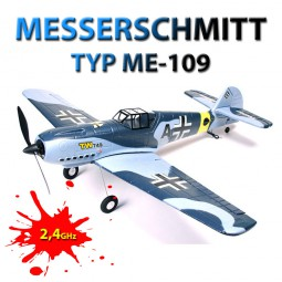 Messerschmidt Bf-109 / ME-109 - RC Deutsches Flugzeug Trainer Jagdflieger/Mustang! 2,4GHz-Edition, N