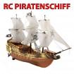 PIRATENSCHIFF - RC Boot/Schiff Segelschiff-Modell - Piraten-Schlachtschiff Modellbau!