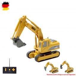 RC ferngesteuerter Mini Radlader, Raupen-Bagger, Baustellen-Fahrzeug, LKW, Auto, Transporter