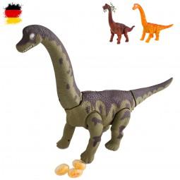 Elektronischer Brachiosaurus Modell Dinosaurier für Kinder, Dino Figur Modellbau, Neu