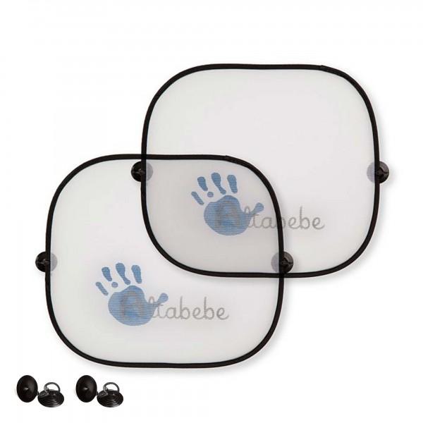 2er set uv sonnenschutz f rs auto schutz f r kinder und babys vor sonne pkw verschiedenes. Black Bedroom Furniture Sets. Home Design Ideas
