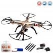 X8HC PRO Drohne, 4.5 Kanal RC ferngesteuerter Quadcopter mit HD-Kamera, Hubschrauber