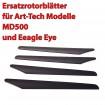 Rotorblätter für MD500 und Eagle Eye, RC Ferngesteuerter Hubschrauber, Ersatzteil, Art-tech