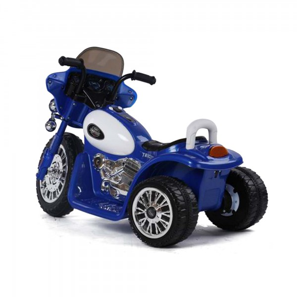 kinder elektro motorrad elektroauto auto polizei roller. Black Bedroom Furniture Sets. Home Design Ideas