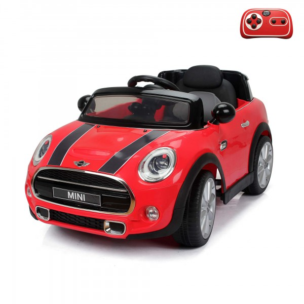 mini cooper s kinder elektroauto mit 2 4ghz. Black Bedroom Furniture Sets. Home Design Ideas