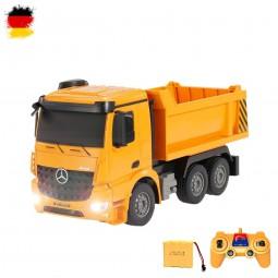 RC Ferngesteuerter Mercedes-Benz Arocs LKW-Kipper, Truck, Auto, Baustellen-Fahrzeug, Bagger