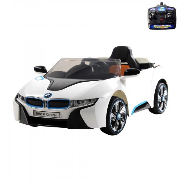 bmw i8 vision kinder elektroauto mit 2 4ghz fernbedienung. Black Bedroom Furniture Sets. Home Design Ideas