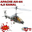 Apache AH-64 - 4.5 Kanal 2.4Ghz RC Hubschrauber Heli-Modell RTF