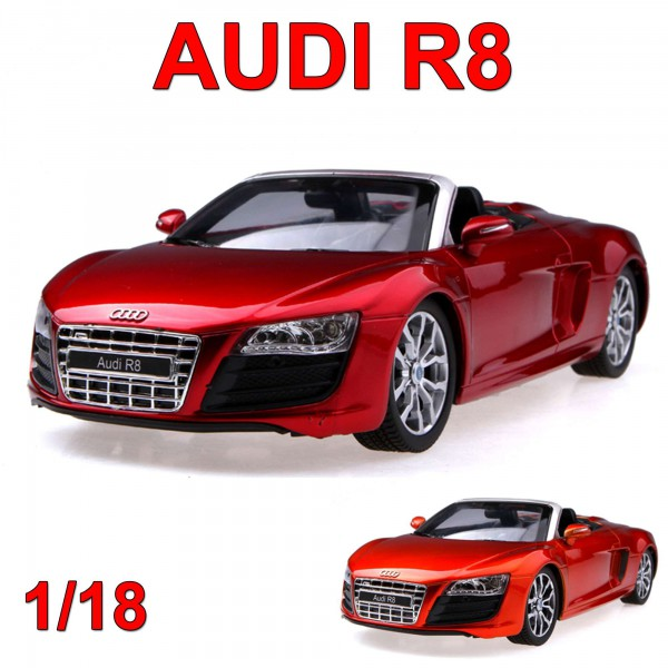 original audi r8 spyder rc ferngesteuertes auto modell. Black Bedroom Furniture Sets. Home Design Ideas