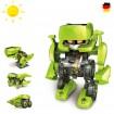 4 in 1 Dinosaurier Konstruktions-Bauset mit Solar, Roboter, Droide,Set, Baustein,Kreatives Spielzeug
