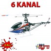 11331 - Original ART-TECH 6 Kanal RC Hubschrauber Fixed-Pitch Modellbau Gyro-Helikopter-Modell