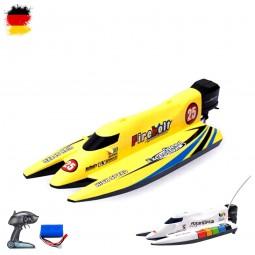 RC ferngesteuertes Rennboot Boot, Schiff, Speedboot, Katamaran Racing-Modell mit einem Speed 10km/h
