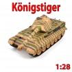 RC ferngesteuerter Panzer Königstiger, Kettenfahrzeug, Modellbau, Neu