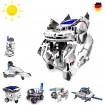 7 in 1 Roboter Konstruktions-Bauset mit Solar, Droide, Baukasten-Set, Baustein, Kreatives Spielzeug