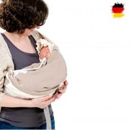 Lodger Babytragetuch für Babys und Eltern, Shelter 2.0, Tuch,Trage, Baby, Kinder
