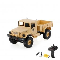 RC ferngesteuertes Militär Fahrzeug mit Akku und Ladekabel, 4WD Auto, Truck, LKW Modell mit 2.4GHz