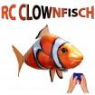 RC Ferngesteuerter fliegender Clownfisch, Flying Fish, Ballon-Fisch mit Motiv für Kinder