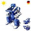 3 in 1 Konstruktions-Bauset mit Solar, Roboter, Panzer, Baukasten-Set, Solarbetriebenes Spielzeug