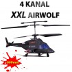 AIRWOLF XXL - 4 Kanal RC Hubschrauber-Modell! Riesengroer Modellbau-Helikopter!