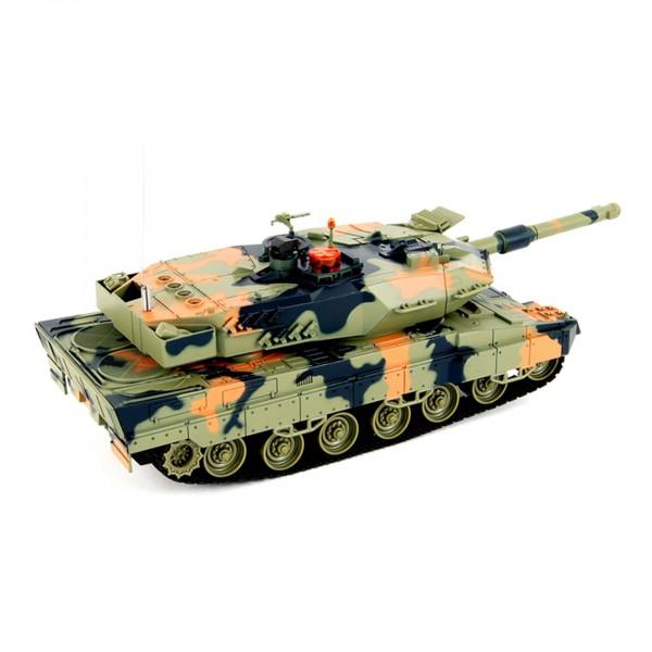 battle set rc ferngesteuerter panzer german leopard mit. Black Bedroom Furniture Sets. Home Design Ideas