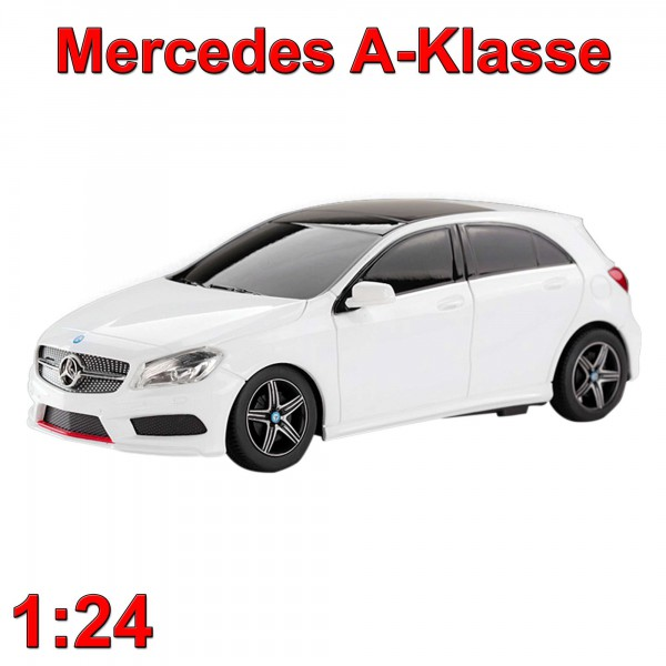 original mercedes benz a klasse lizenfahrzeug rc auto modellbau neu 1 24 rc modellautos. Black Bedroom Furniture Sets. Home Design Ideas