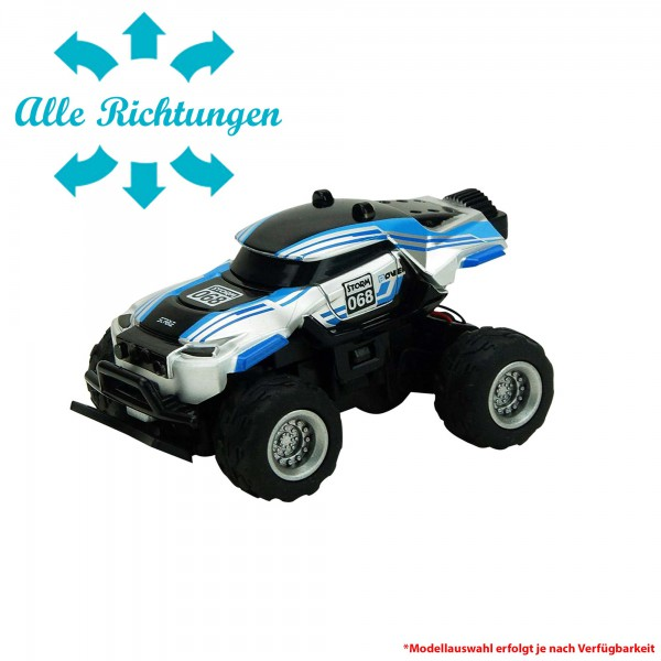 rc ferngesteuertes mini monster truck mit akku. Black Bedroom Furniture Sets. Home Design Ideas
