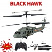 3.5 Kanal RC ferngesteuerter Rettungs-Helikopter Black Hawk UH-60, Neu