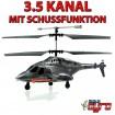 U810 - 3,5 Kanal RC Airwolf Kampf-Hubschrauber Mit Schussfunktion Gyro-Modell