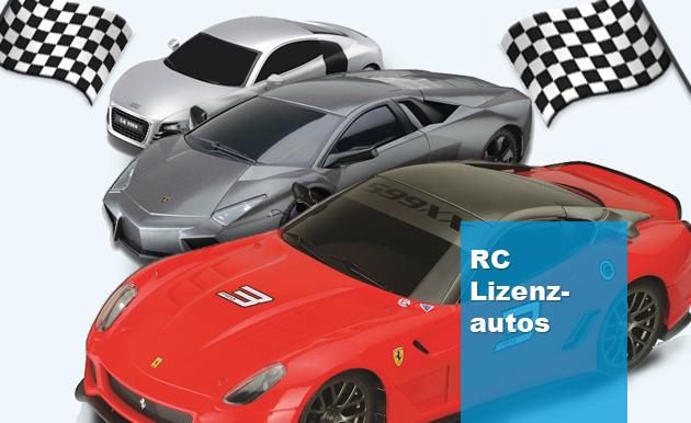RC Lizenz Autos